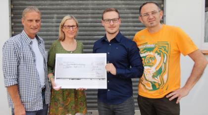 SPD überreicht Spende an Hammer Tafel